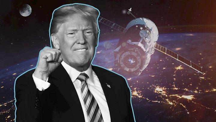 EUA Donald Trump Força Espacial Mike Pence espaço espaço