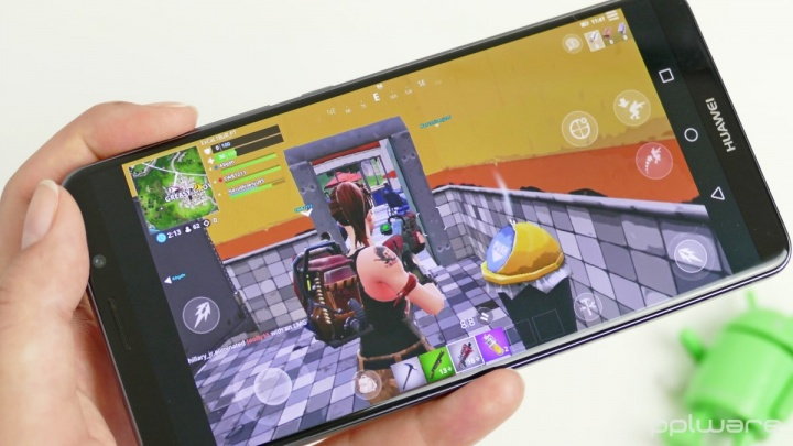 Imagem: Pplware - Fortnite no Huawei Mate 10 Pro - Android