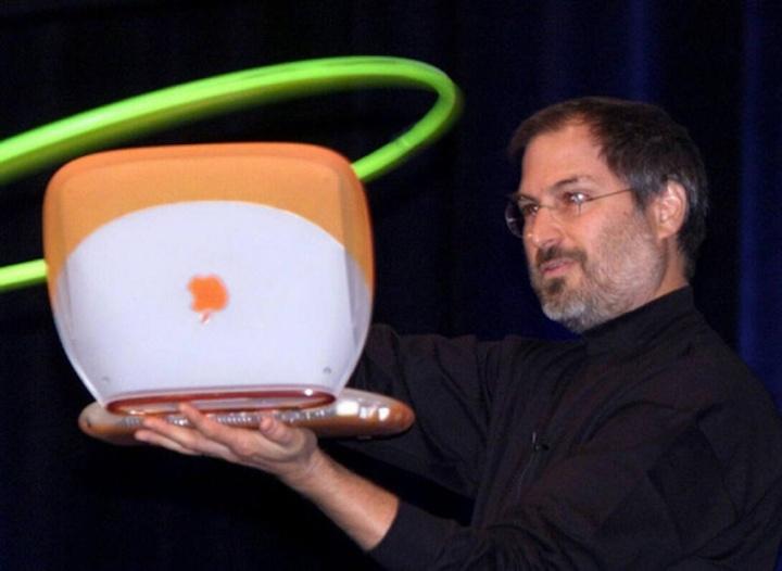Steve Jobs iBook Wi-Fi MacWorld