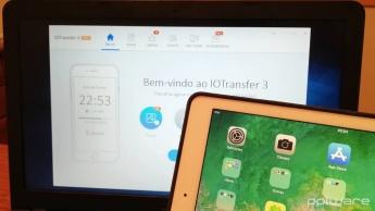 IOTransfer 3 Apple iOS iPhone iPad gerir