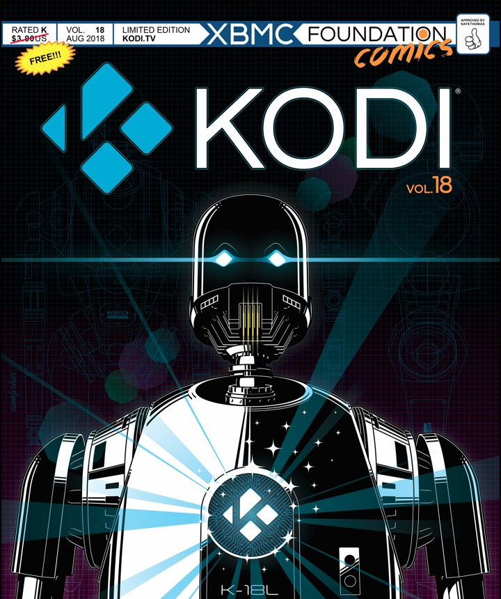 Kodi Leia beta media player