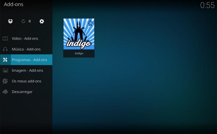 Kodi Indigo add-ons configurar