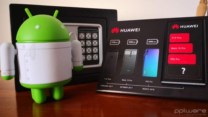 Huawei bateria Mate 20 Pro diferente