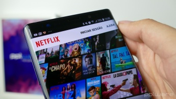 Samsung Galaxy Note9: Netflix, séries, documentários. Foto: Pplware