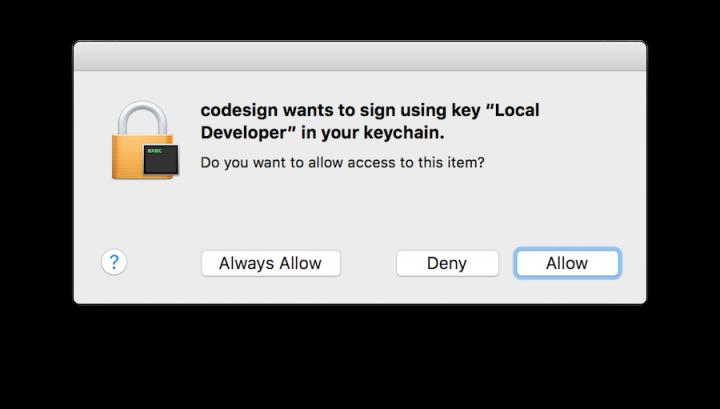 Apple macOS cliques sintáticos