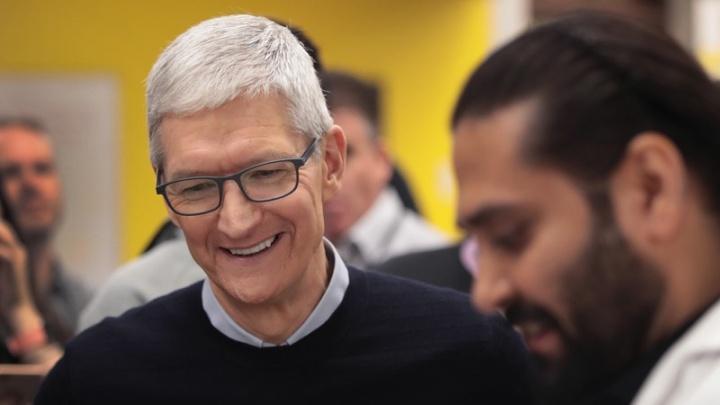 Tim Cook 120 milhões Apple