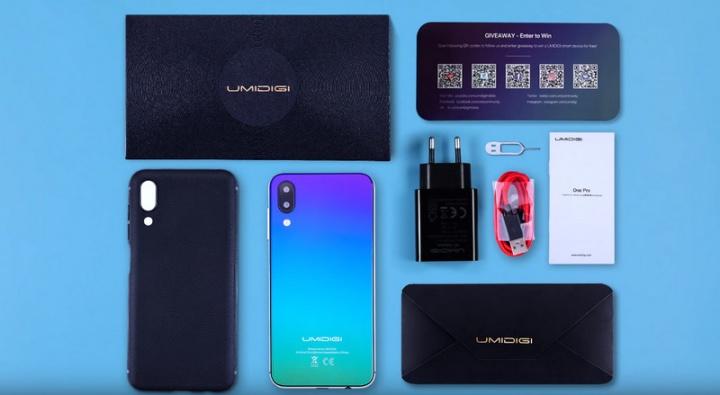 Umidigi revela unboxing e hands-on do seu novo Umidigi One | One Pro