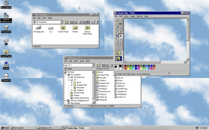 Windows 95 is available for Linux, Mac, and Windows