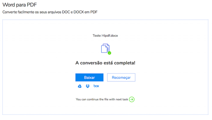 baixar conversor word para pdf gratis