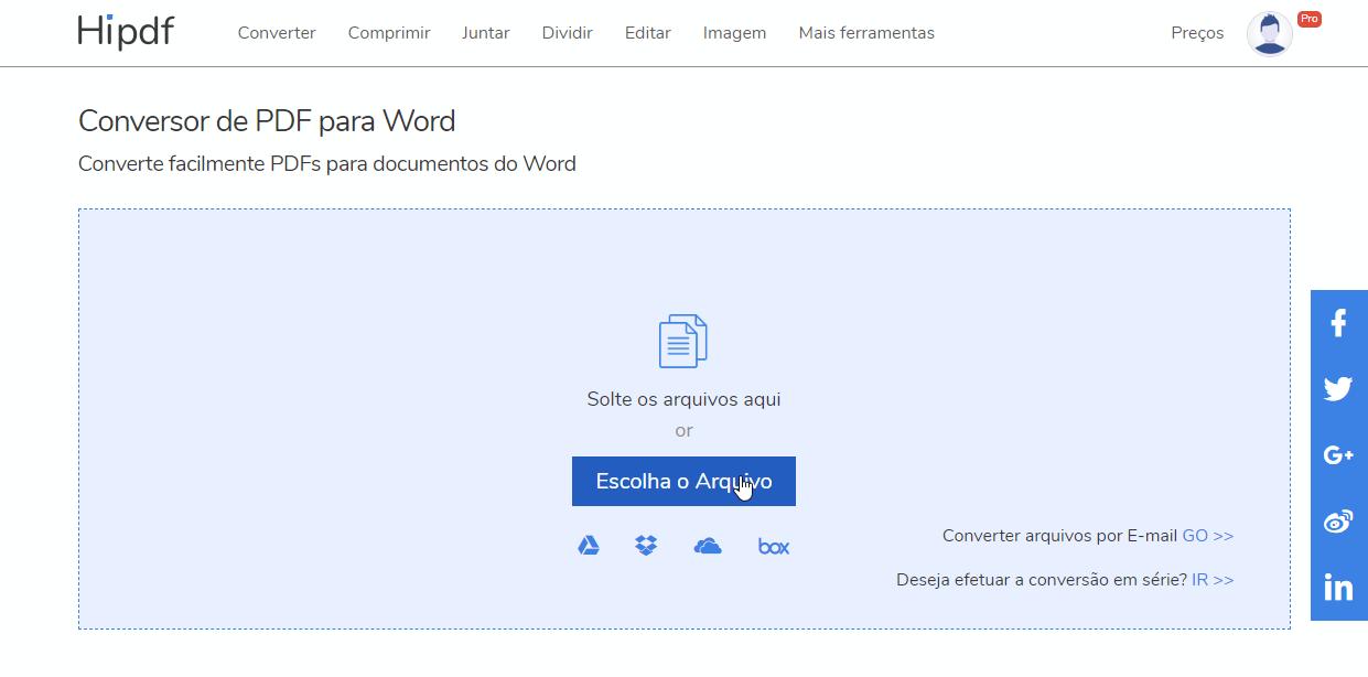 como converter arquivo pdf para autocad