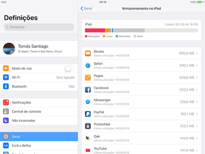 atualização iOS 12 preparação iPhone iPad