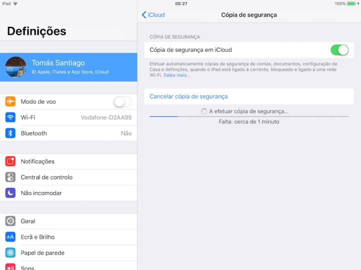 atualização iOS 12 iPhone iPad