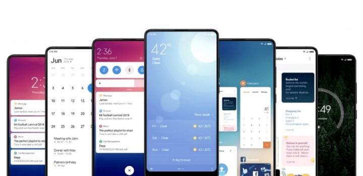 Xiaomi Mi 5 Redmi Note 3 MIUI 10