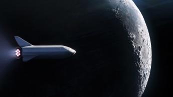 SpaceX passageiro lua