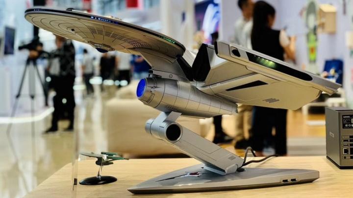 Lenovo inspira-se em Star Trek e cria PC Gaming em forma de nave espacial