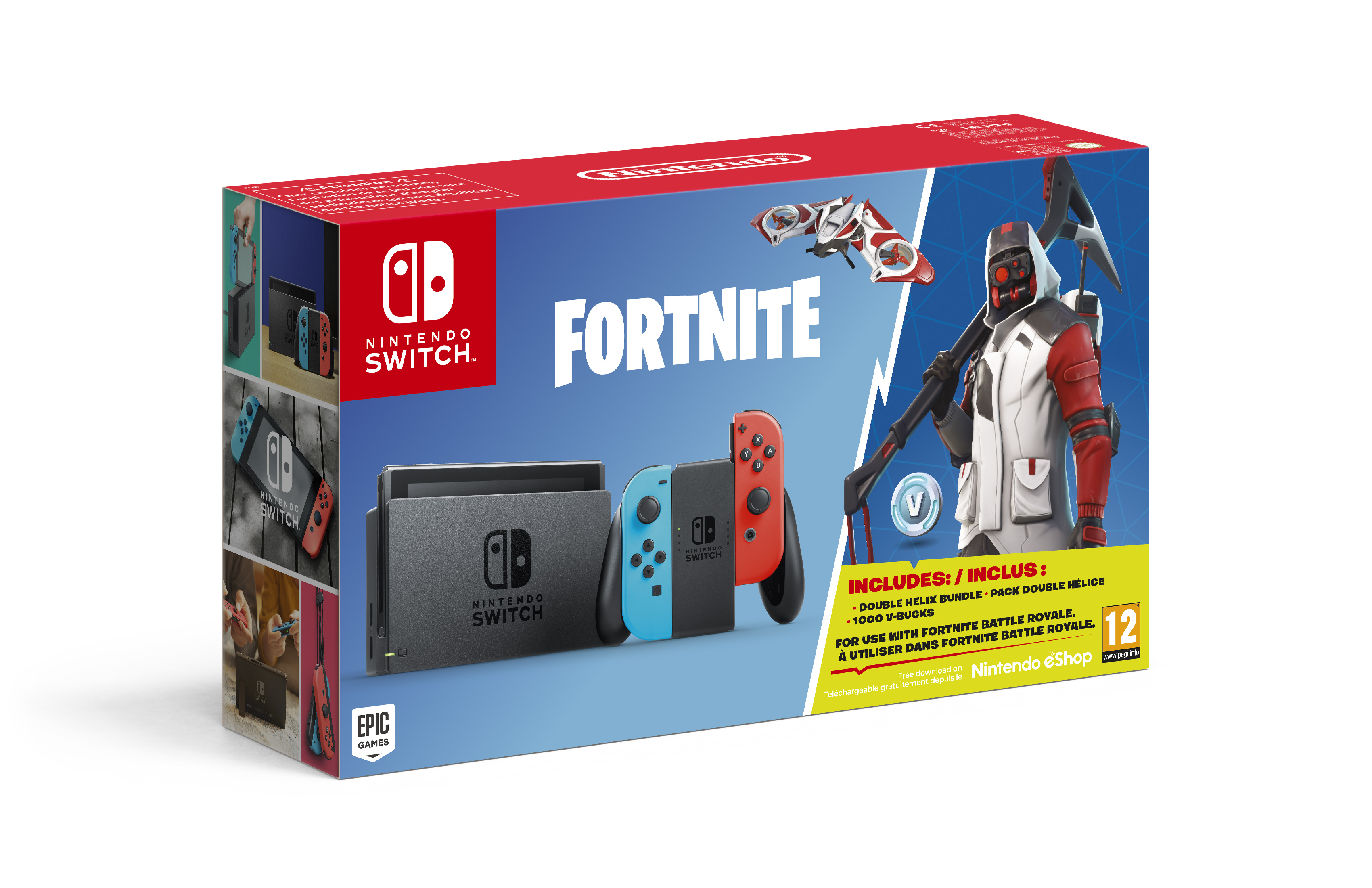 Nintendo Switch Com Fortnite Pplware
