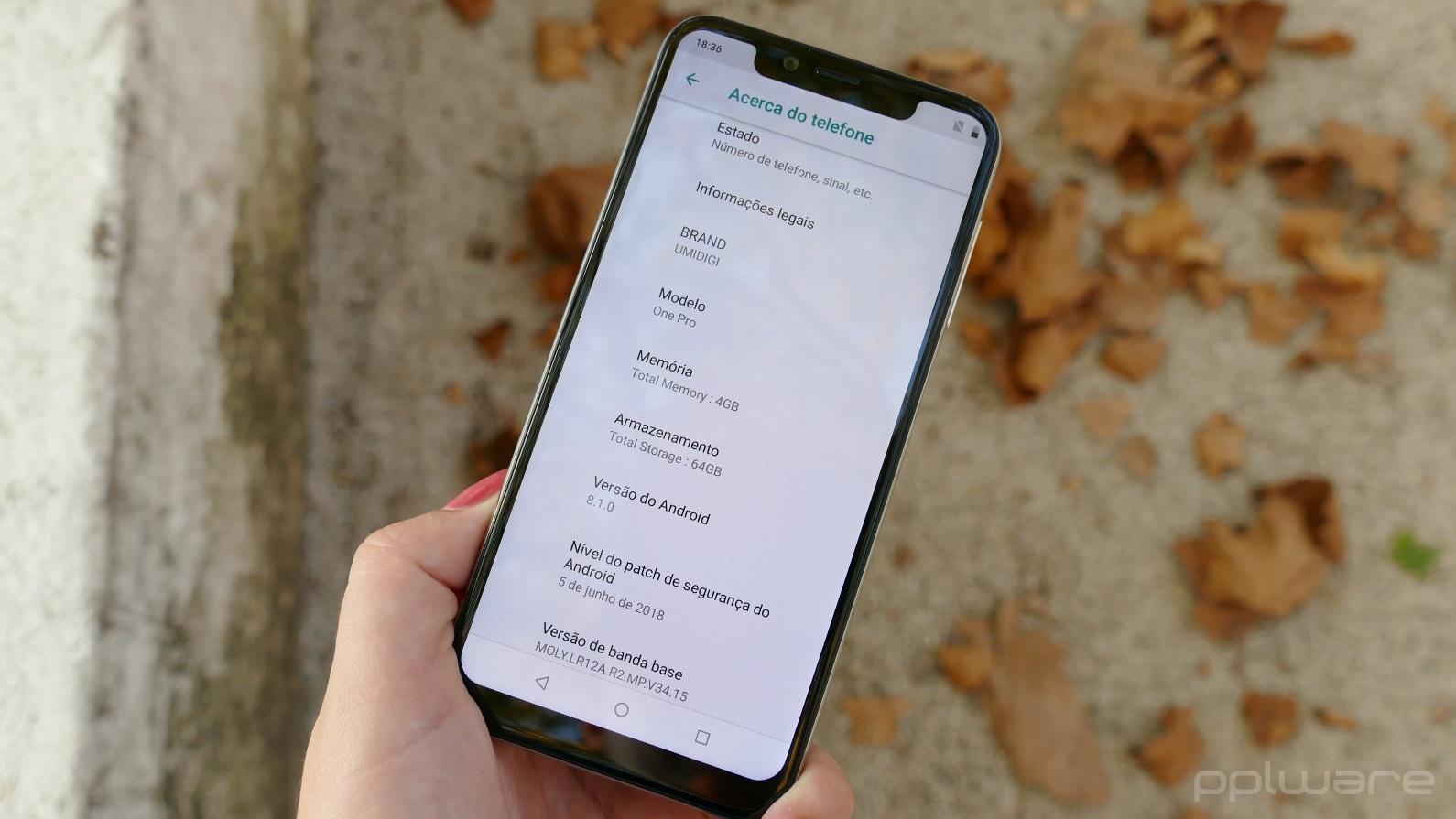 Análise: Umidigi One Pro - o que esperar de um smartphone de
