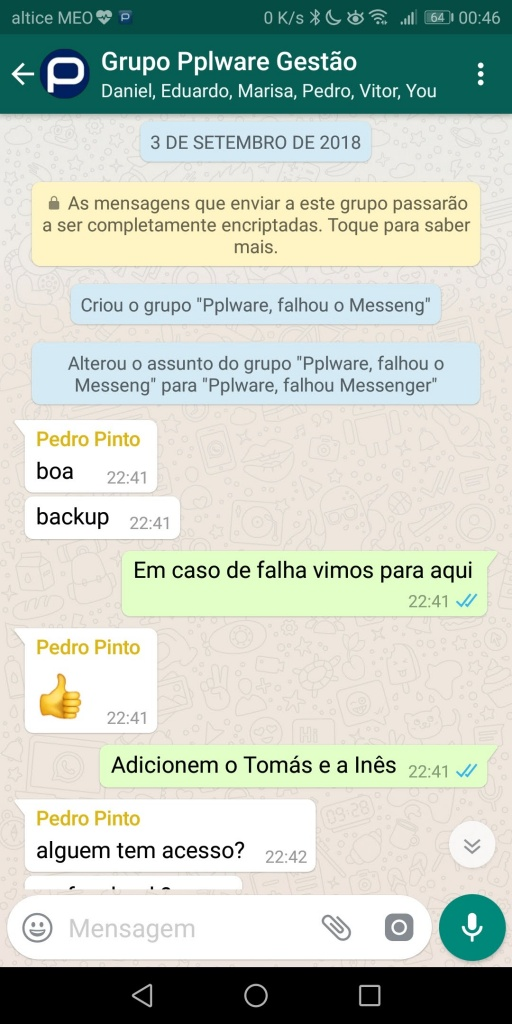 WhatsApp Grupos Convite link utilizadores