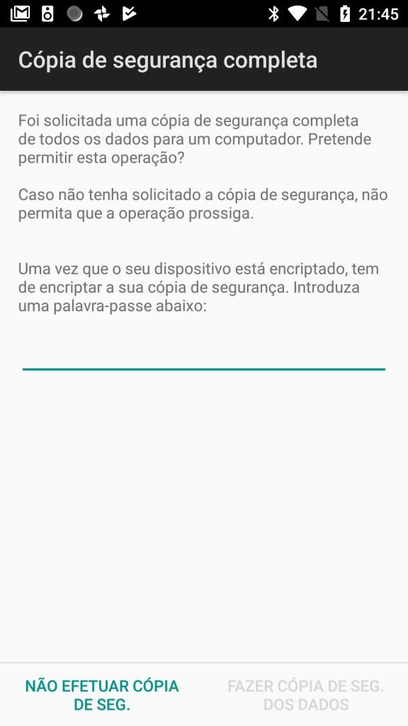 Android ADB backup restaurar root