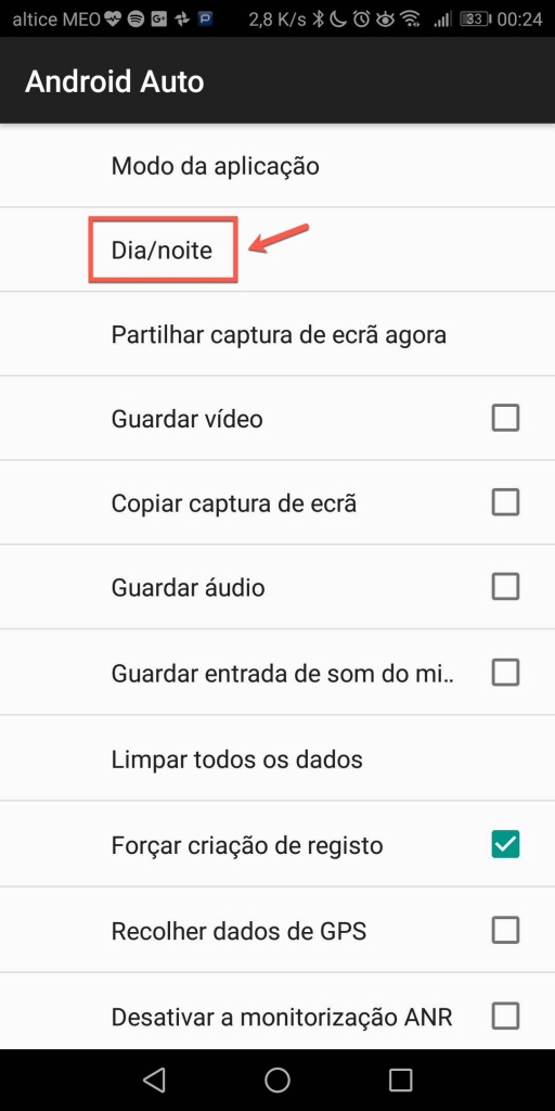 Android Auto dica Android Google automóvel