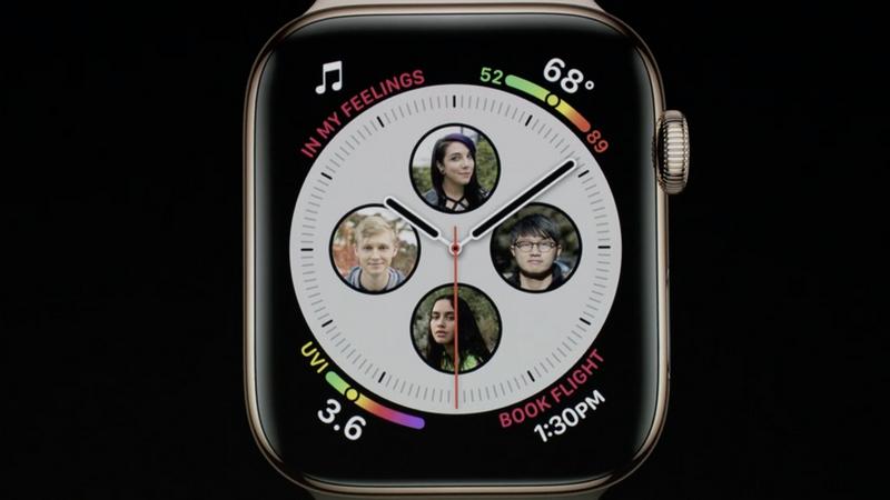 033af44a5 ... Apple Watch Series 4! Tudo começa com o ecrã. O ecrã é 30% maior e  agora também é mais curvo. Depois vem em dois novos tamanhos  40mm e 44mm.