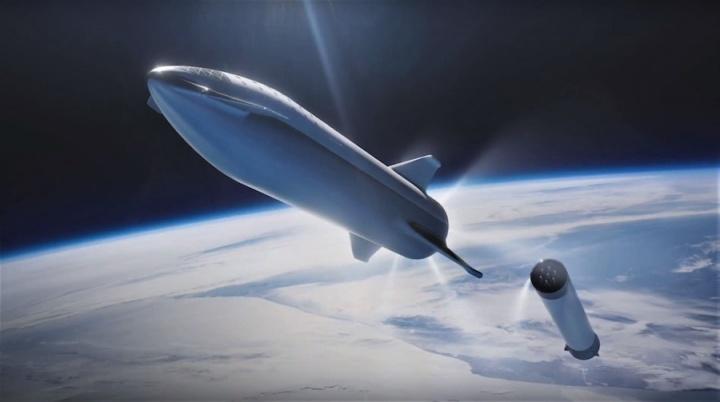 Marte Elon Musk BFR SpaceX