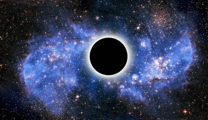 Um buraco negro pode comportar-se como uma gota de água?