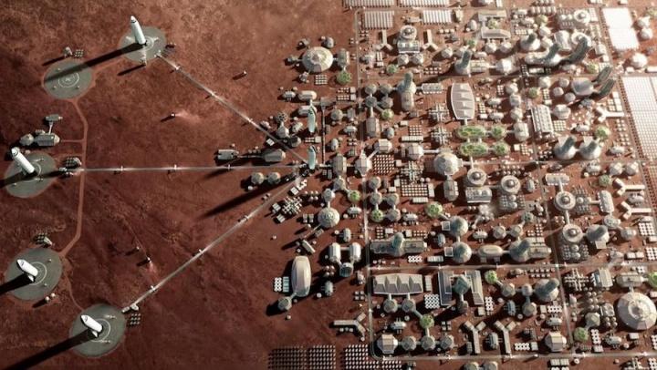 SpaceX Marte planos