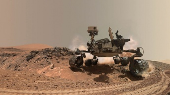 NASA Curiosity Rover falha