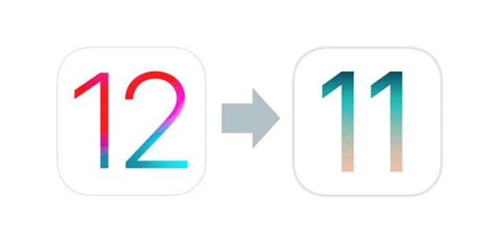 iOS 12 iOS 11 voltar downgrade iPhone iPad