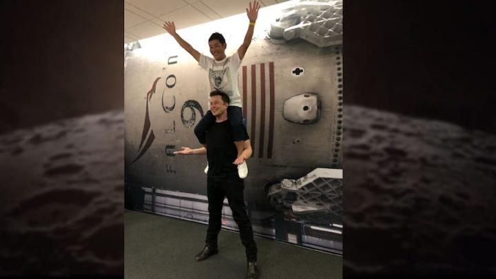 Elon Musk SpaceX viagem lua Yusaku Maezawa