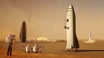 Marte SpaceX Elon Musk BFR