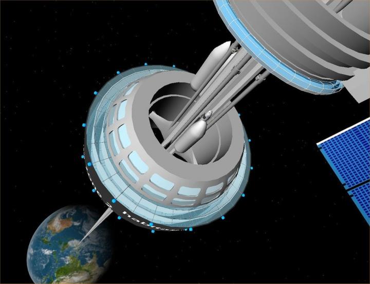 Japão lançou um elevador espacial
