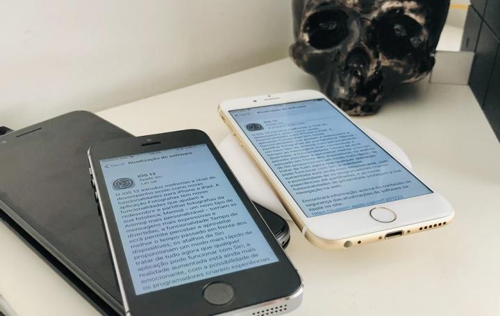 iOS 12 em iPhones antigos