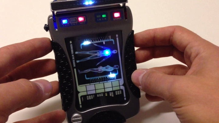 Star Trek: Réplica do Nemesis Mk XI Tricorder