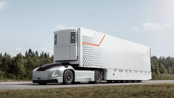 Imagem Volvo Vera camião autónomo sem cabina