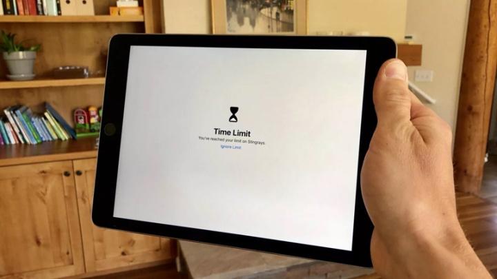 iOS 12 Tempo de Ecrã Apple iPhone Crianças