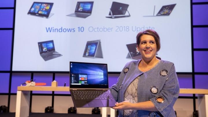 Windows 10 atualização October 2018 update Microsoft