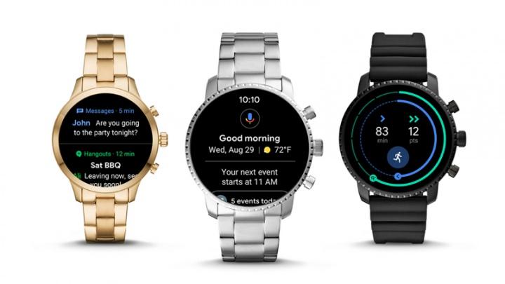 WearOS Google smartwatches atualização