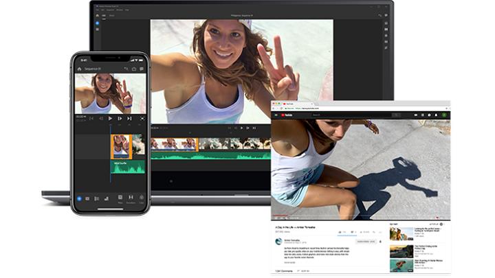 Adobe Premiere Rush CC – Nova aplicação para edição de vídeo chega ao Android em 2019