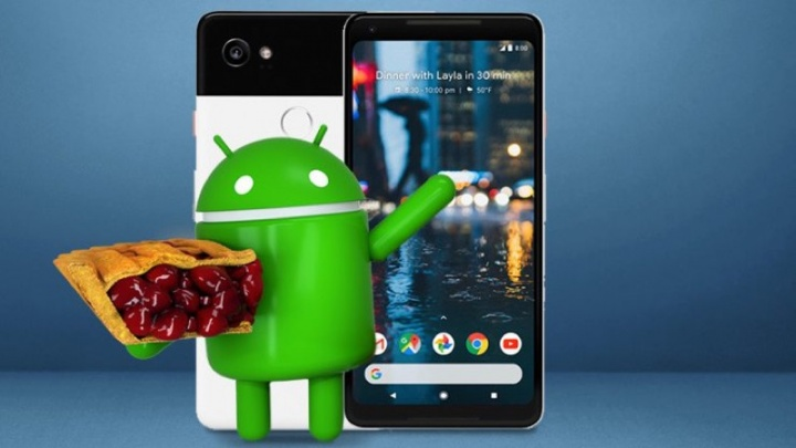 Android 9 Pie Google Pixel