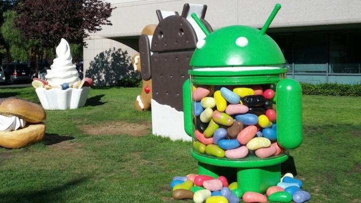 Google Chrome suporte Jelly Bean