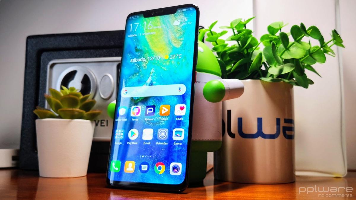 Huawei Mate20 Pro Antutu benchmark Android