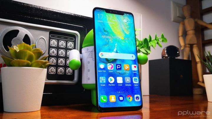 Huawei Mate 30 smartphone repensar apresentação