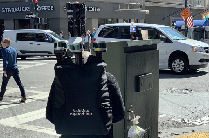 Apple está a usar câmaras em mochilas para recolher dados de mapas em San Francisco