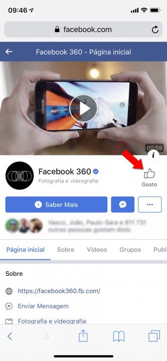 Facebook Foto 3D iPhone dica