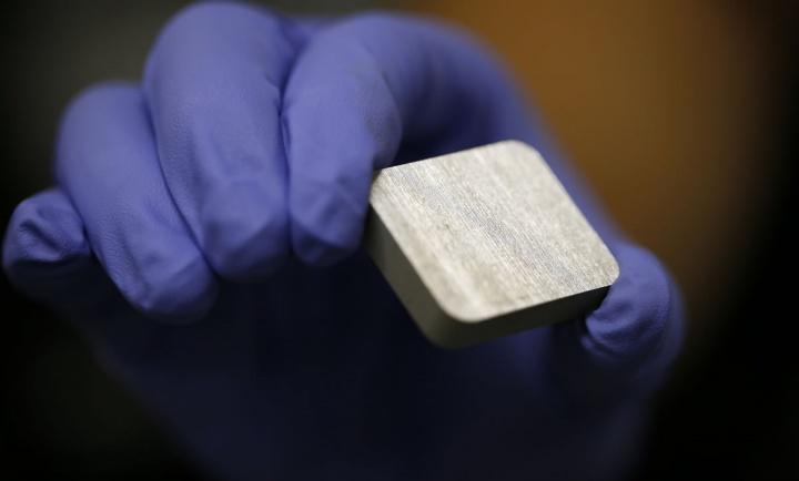 Matéria prima para fabricar a bateria de fluxo de ar de alumínio