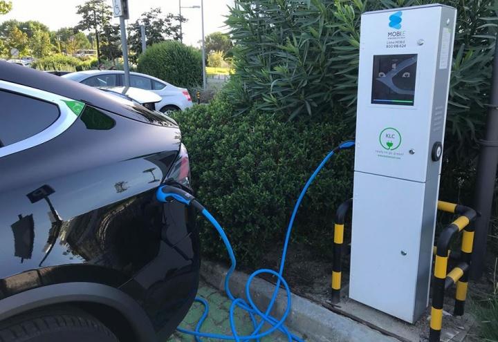 Carregamento carros elétricos