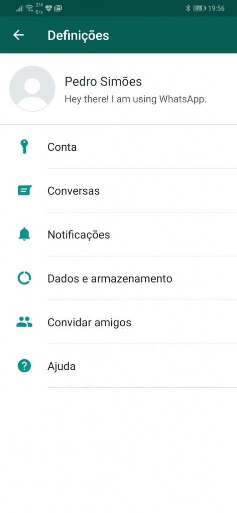 WhatsApp telefone número mensagens