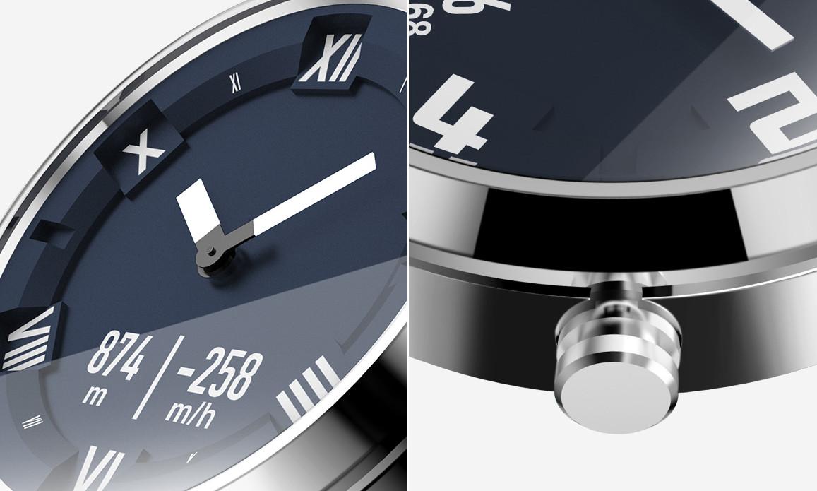 741eff2acf1 O Lenovo Watch X Plus tem um vidro em safira no mostrador